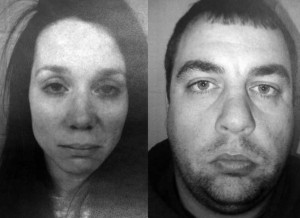 Melissa Webb, 33, and Justin Webb, 35.