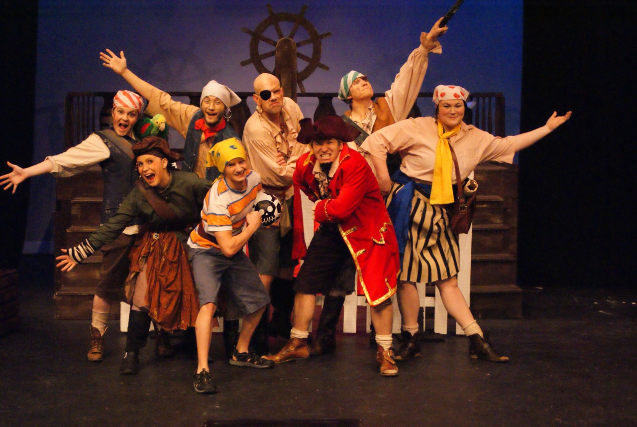 """The cast of """"How I Became a Pirate."""""""