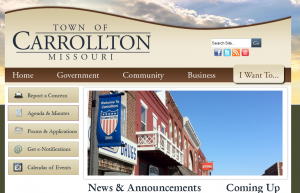 Opening session of 2016 brief affair for Carrollton City Council