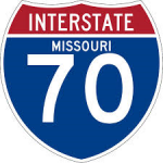 UPDATE – Westbound I-70 backed up between Noland Road and Highway 291