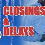 Closings, cancellations and early dismissals – Wednesday, January 20, 2016