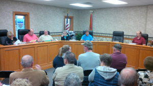 Several citizens turned out for the Carrollton City Council Meeting Monday, April 6th, 2015 at City Hall.