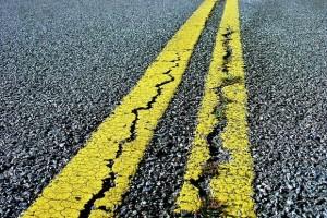 Cracks in Road