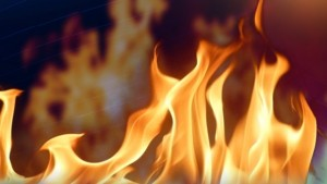 Fire---flames