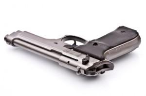 gun-on-white-background