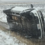 One vehicle crash in Carroll County included reports of a non responsive passenger
