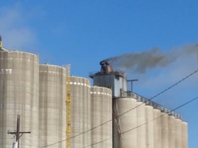 UPDATE: Smoke seen coming from Bartlett Grain Company in Waverly