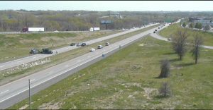 Scene of the accident sight provided by MoDOTs SCOUT camera system.