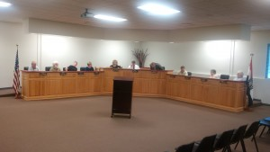All but one council member was present for the Tuesday, April 26, 2016, regular session of the Richmond City Council.