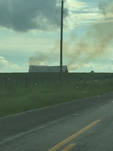Hay Shed Fire 3
