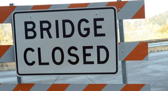 Bridge Closure in Chillicothe