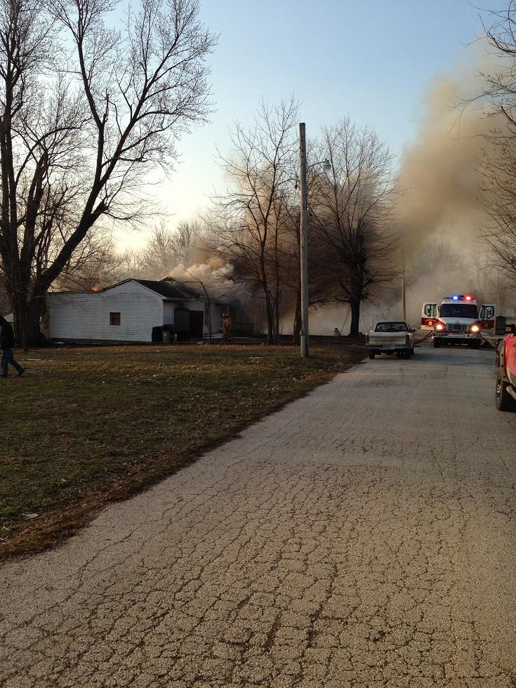 House Fire in Carrollton