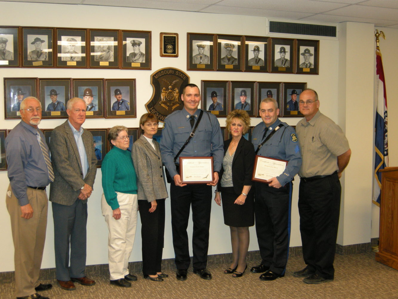 Troopers Recognized for Heroic Acts