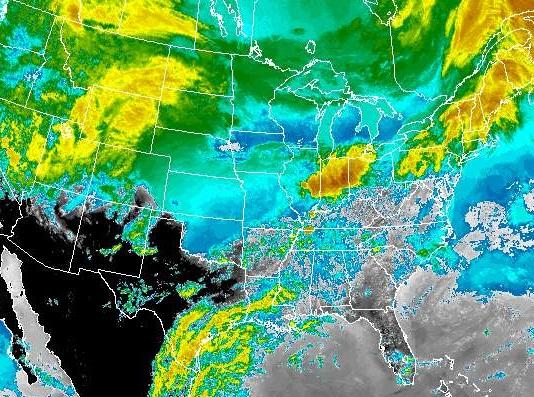Storm Heads Toward Missouri