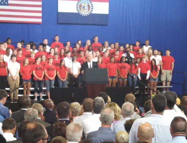 Ambrose: 'Historic Day for UCM'