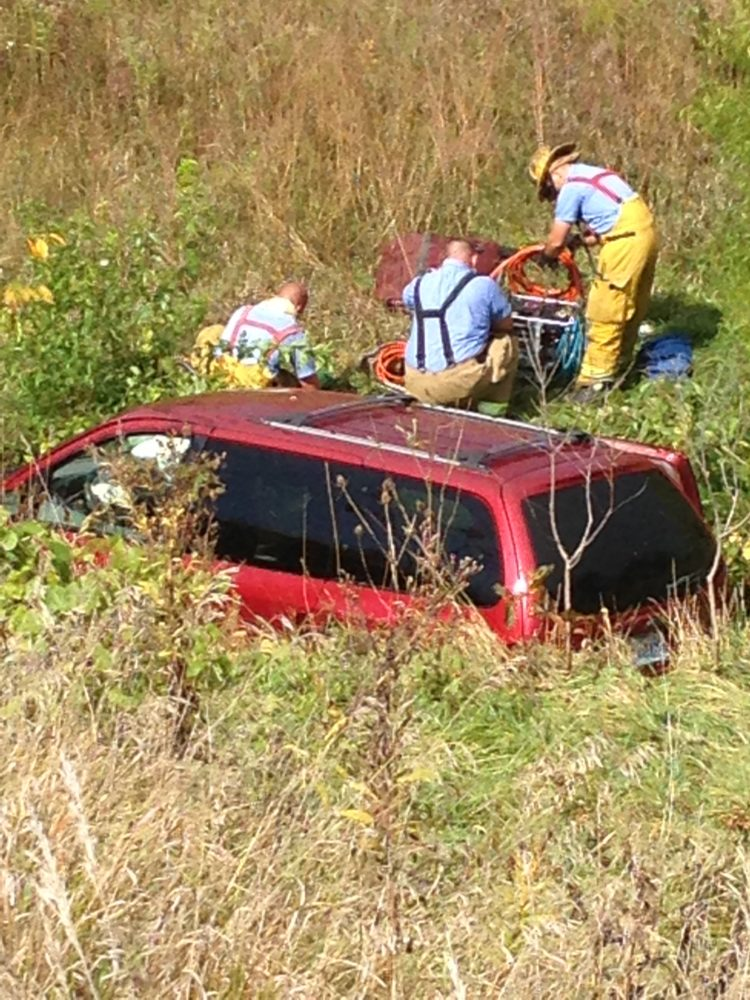 One Injured in Marshall Accident