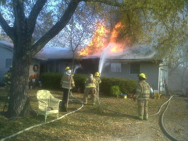 Fire Reported South of Chillicothe