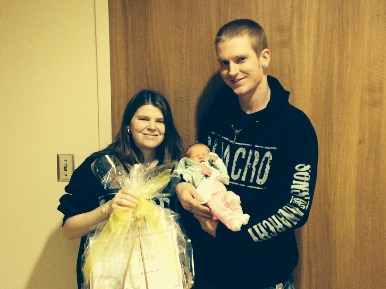 First Baby Born At Hedrick Medical Center