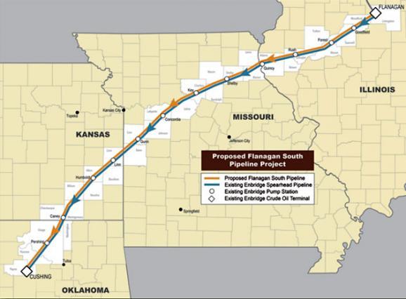 Missouri Pipeline On Schedule For Summer 2014