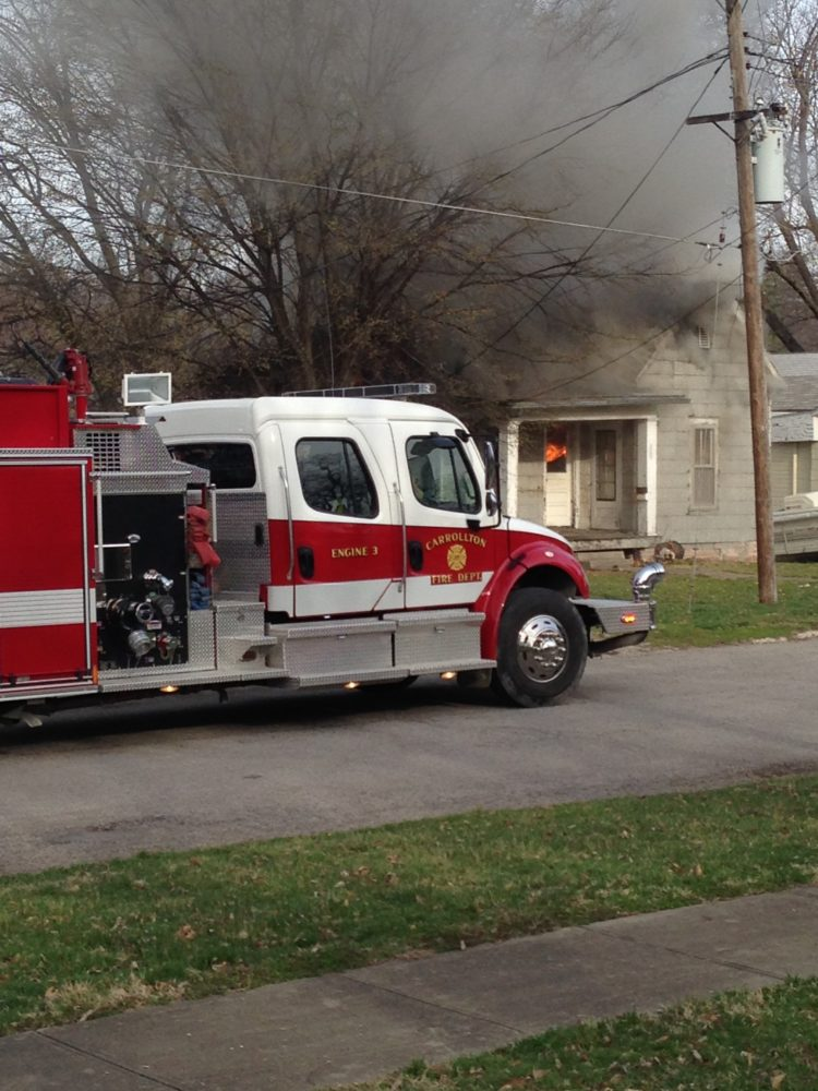 Four Sedalia homes damaged by Thanksgiving day fire