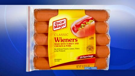 Weiners Not Labeled Properly