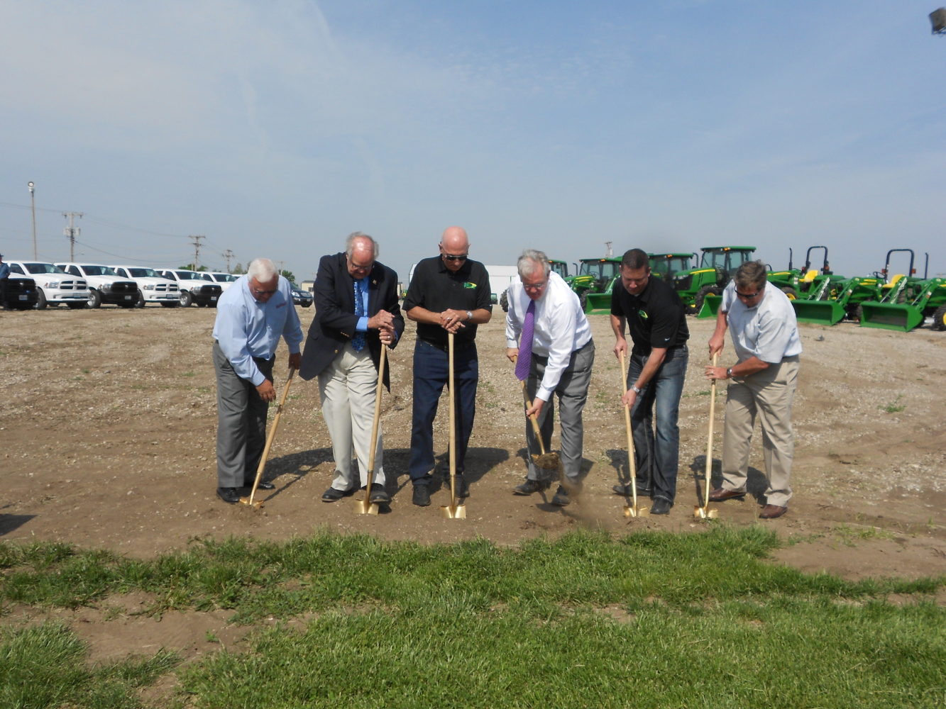 Groundbreaking For New Ag Power Facility