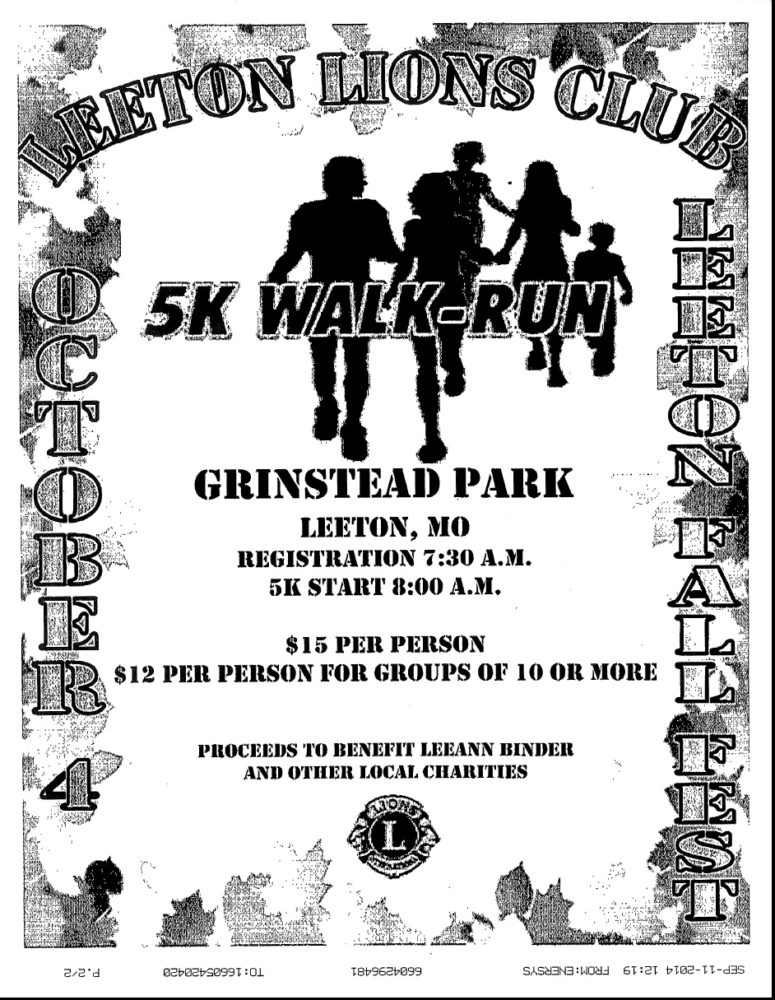 Leeton 1st Annual 5k Walk/Run