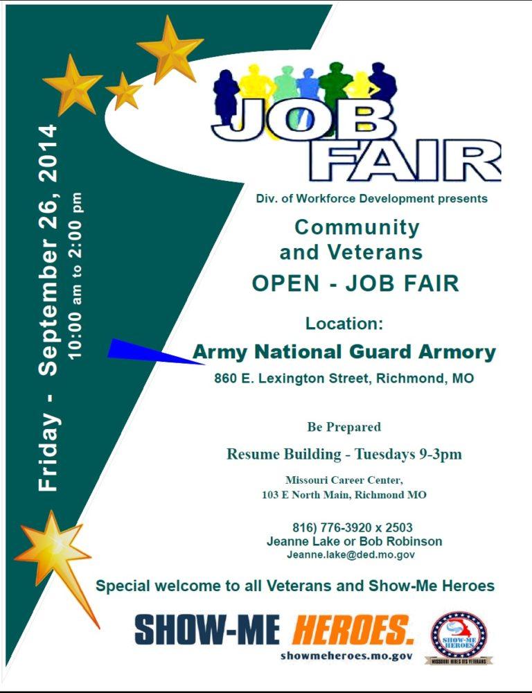 Show-Me Community and Veterans Job Fair
