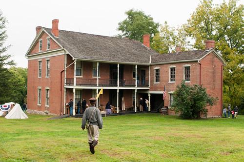 Presentation at Battle of Lexington Site