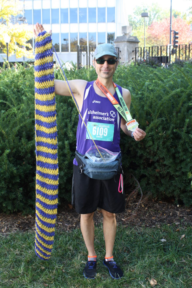 UCM Associate Professor Takes His Knitting to the NYC Marathon