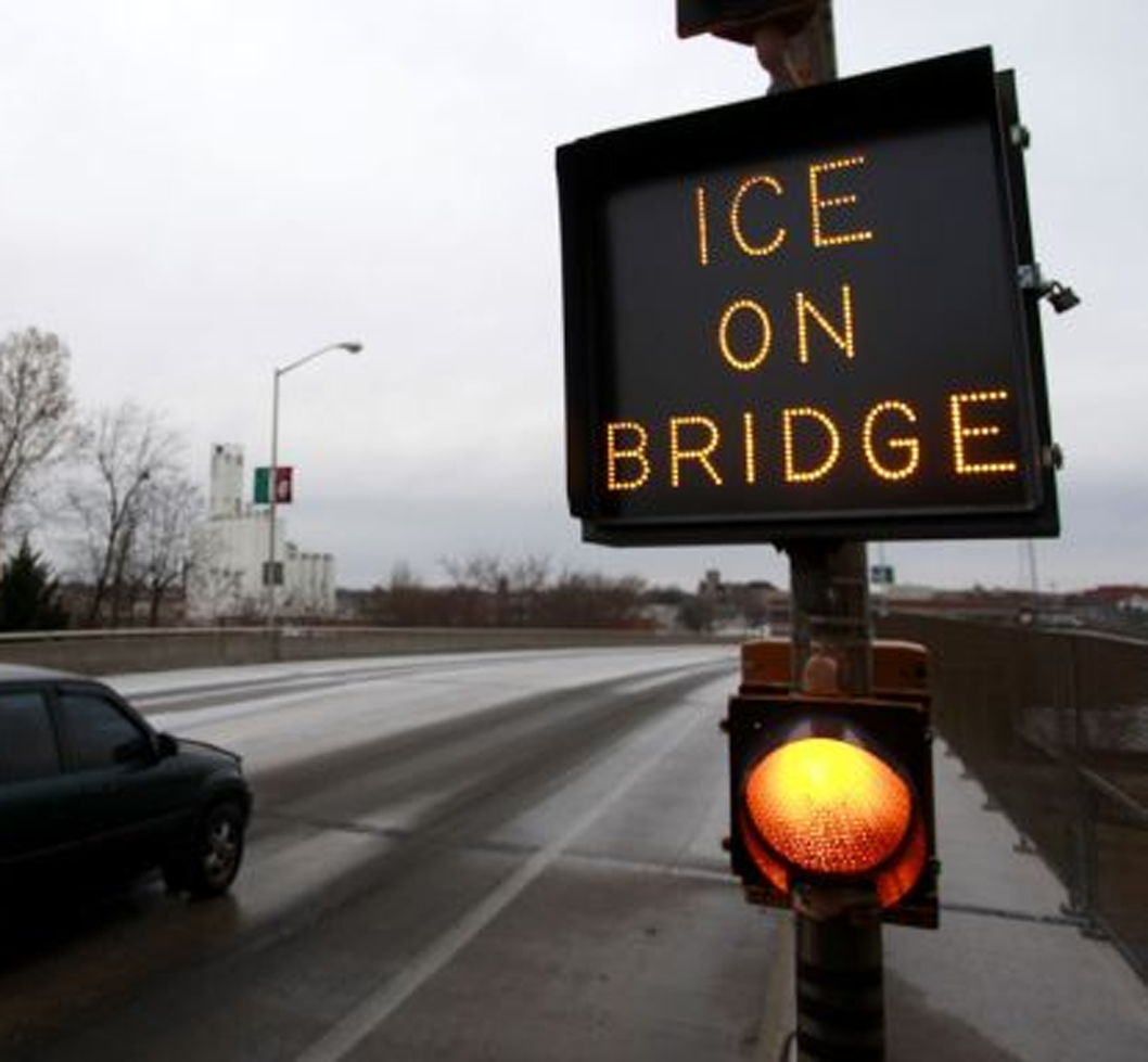 Icy Linn Co. Bridge Claims a Vehicle