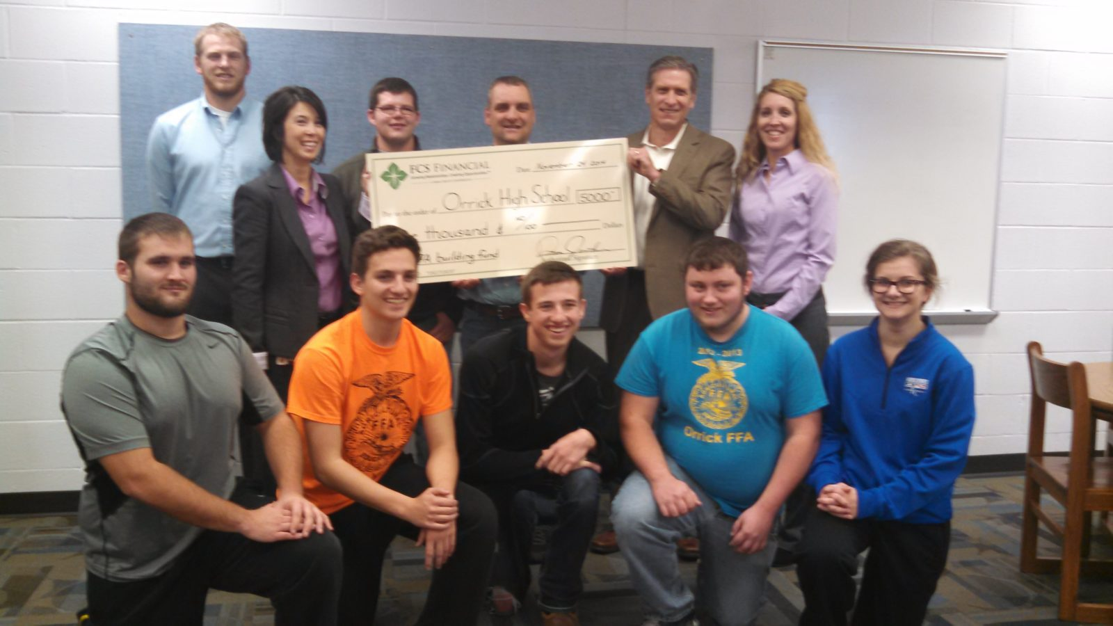 FCS Financial Donates to Orrick High School