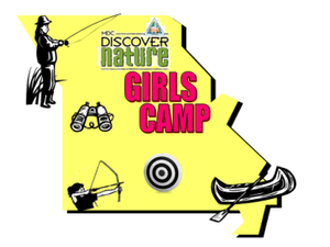 """Missouri Department of Conservation presents """"Discover Nature Girls Camp"""""""