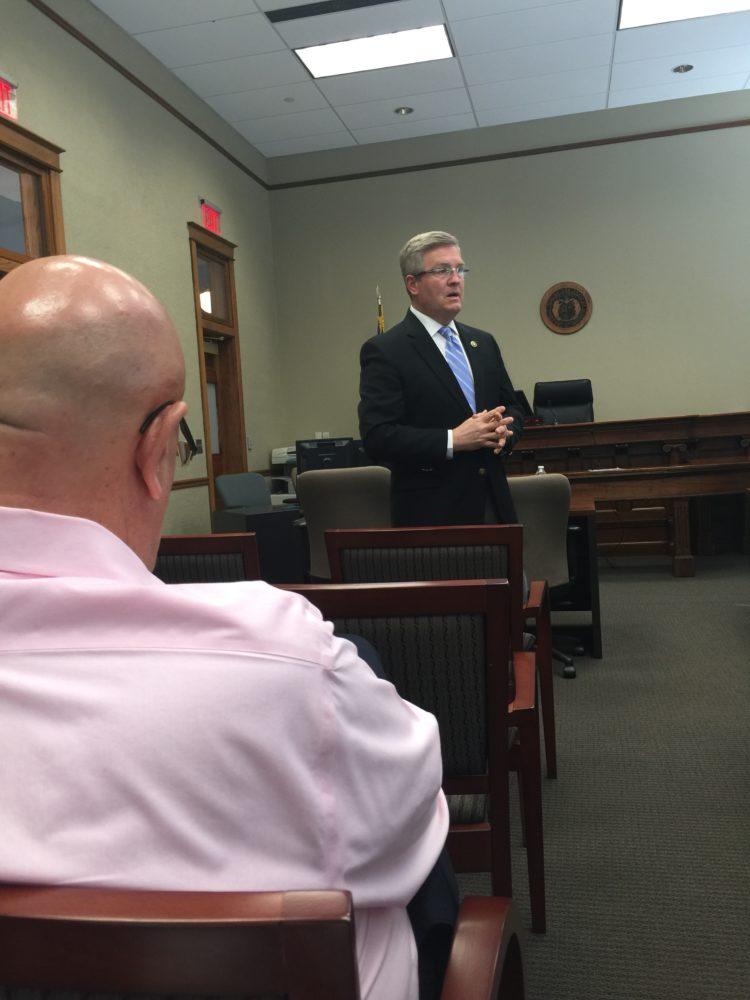 Senator Pearce in Lafayette County