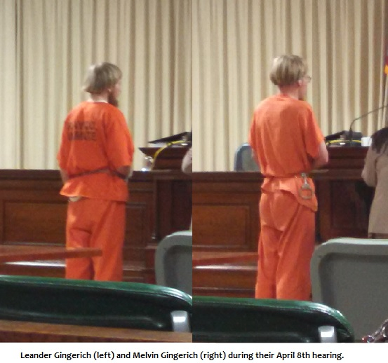 UPDATE: Carroll County Hearing For Amish Rape Suspects