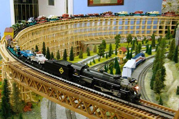 Model Train Show to be held in Marceline