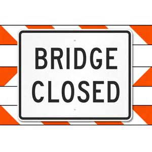 MoDOT closing bridge near Slater