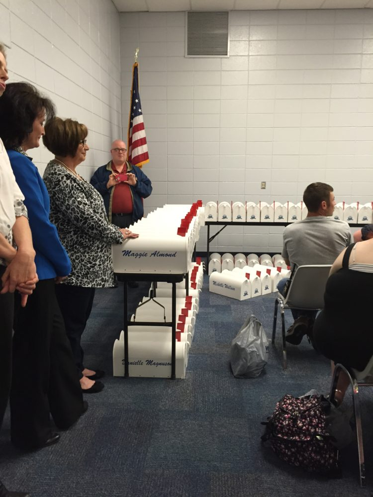 Brookfield High School Annual Pre-Graduation Mailbox Ceremony: Who Says You Can't Go Home?