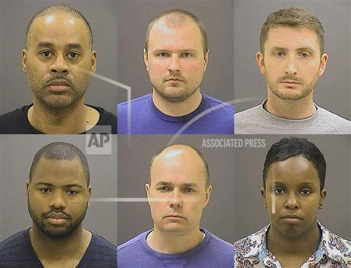 Grand Jury Indicts Police Officers in Freddie Gray Case