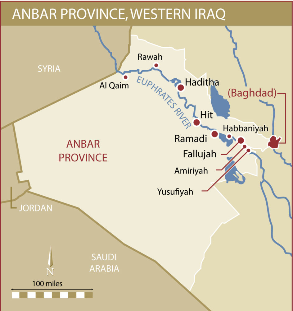 Iraqi Anbar Province Contested in ISIS Fight