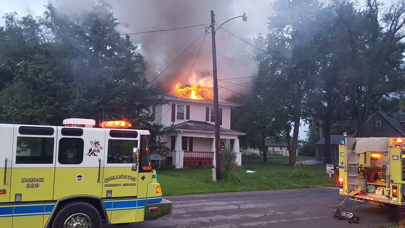 No injuries in Chillicothe house fire