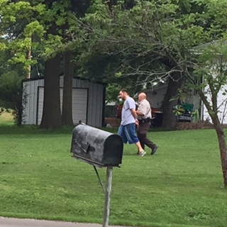 UPDATE: Extensive criminal record for resident in Tina standoff