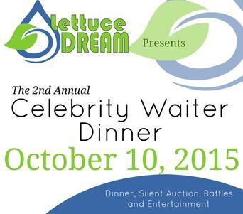 """Lettuce Dream hosts """"Build the Dream – A Celebrity Waiter Dinner"""" in northwest Missouri"""