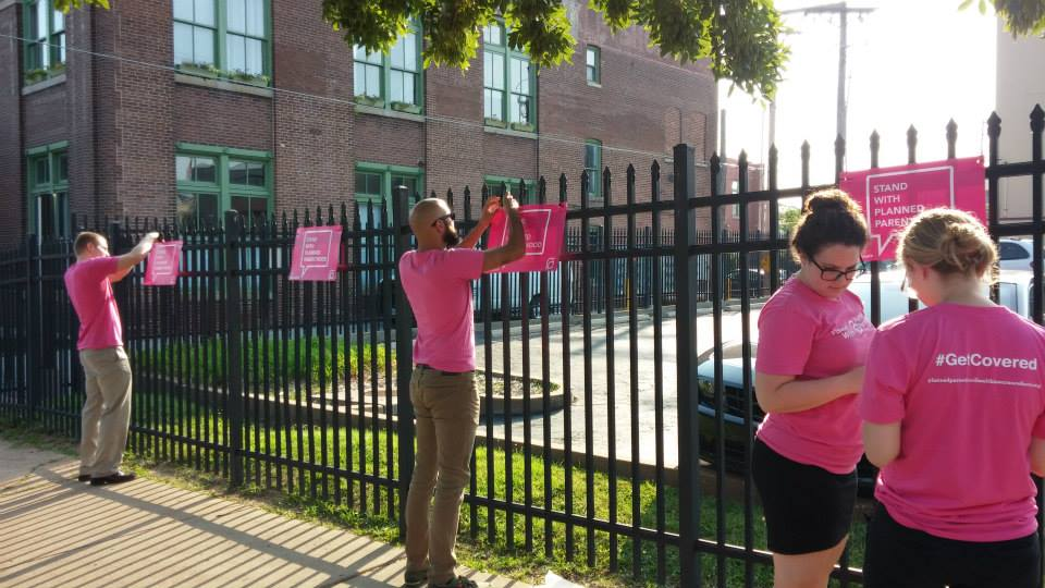 Women's advocates in Missouri take stand for Planned Parenthood