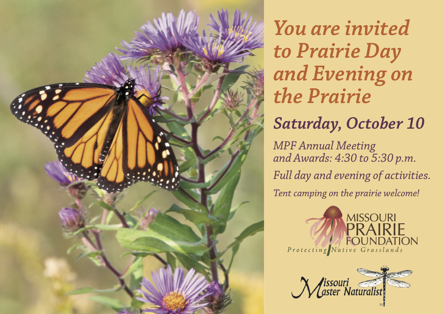 Missouri Prairie Foundation hosts an Evening on the Prairie
