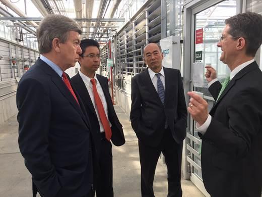 Senator focused on Missouri agriculture; hosts Japanese Ambassador