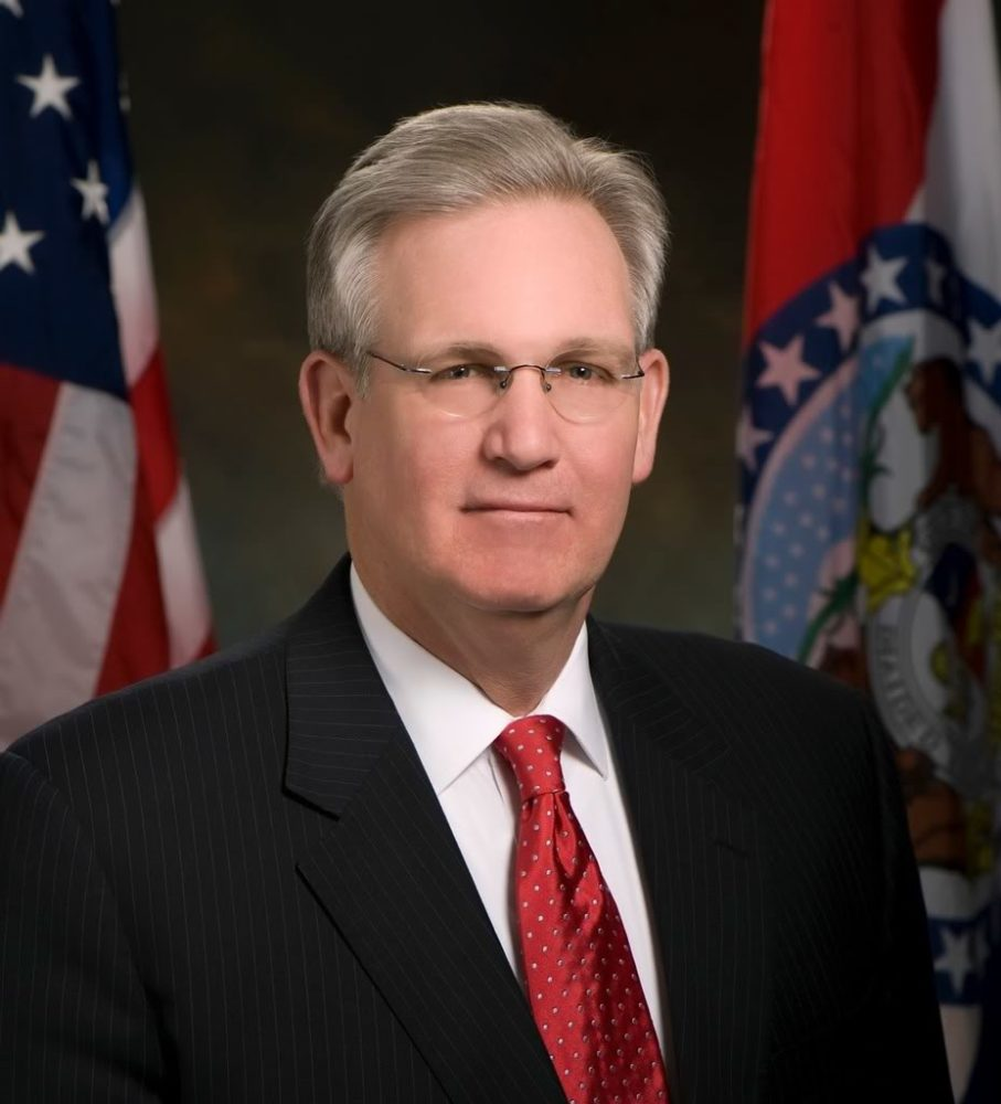 Governor Nixon signed legislation today to combat sex trafficking