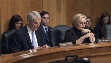 Senators convene for investigation hearing related to online advertising hub