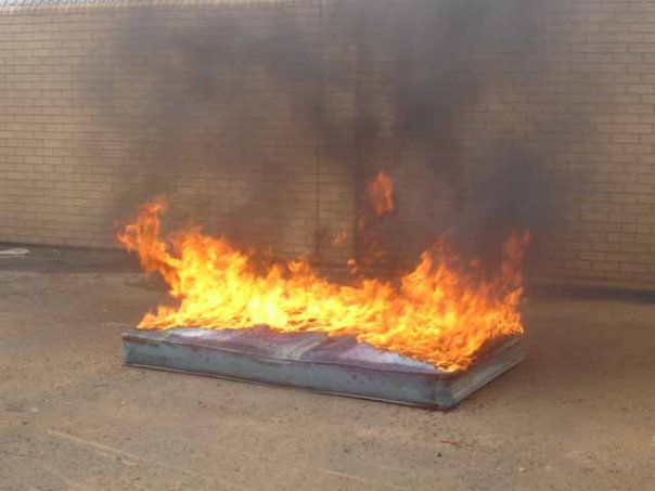 Macon Mattress Burns