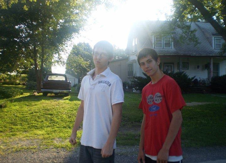 Brent Lockhart and Jacob Feldman sometime in 2011